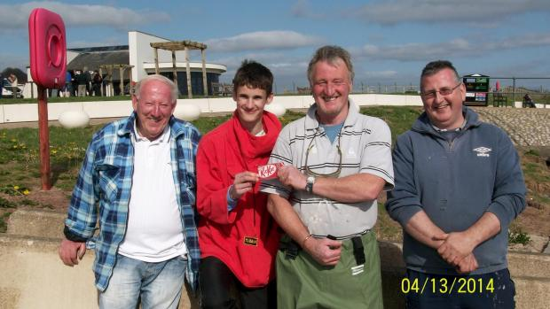 SUNDAY'S WINNERS: Alan James, Junior winner Conner Williams George Hawkridge, and Keith Williams. (5437429)