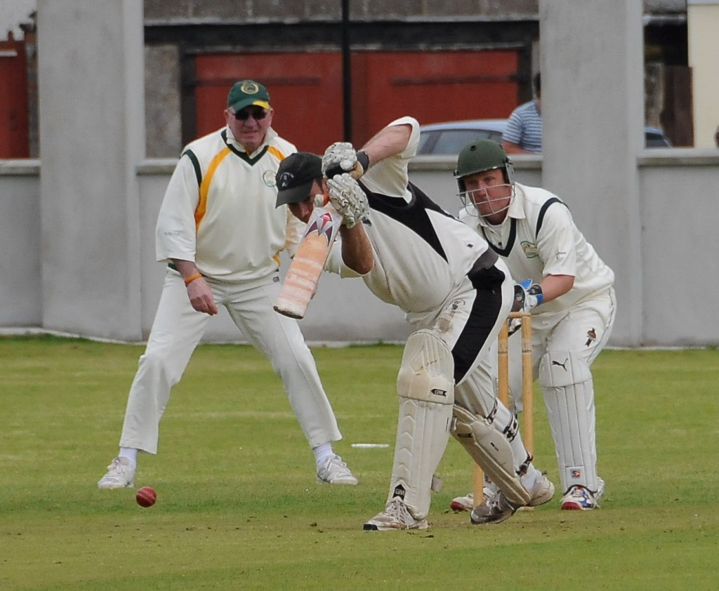 TOP KNOCK: Neyland skipper Gregg Miller guided Neyland to victory with a terrific knock of 61 not out. PICTURE: Ian Miller. (5718581)