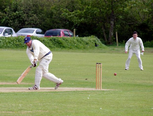 TOP DOC: Simon Holliday took wickets and scored runs in Haverfordwest's win over St Ishmaels. (8180357)