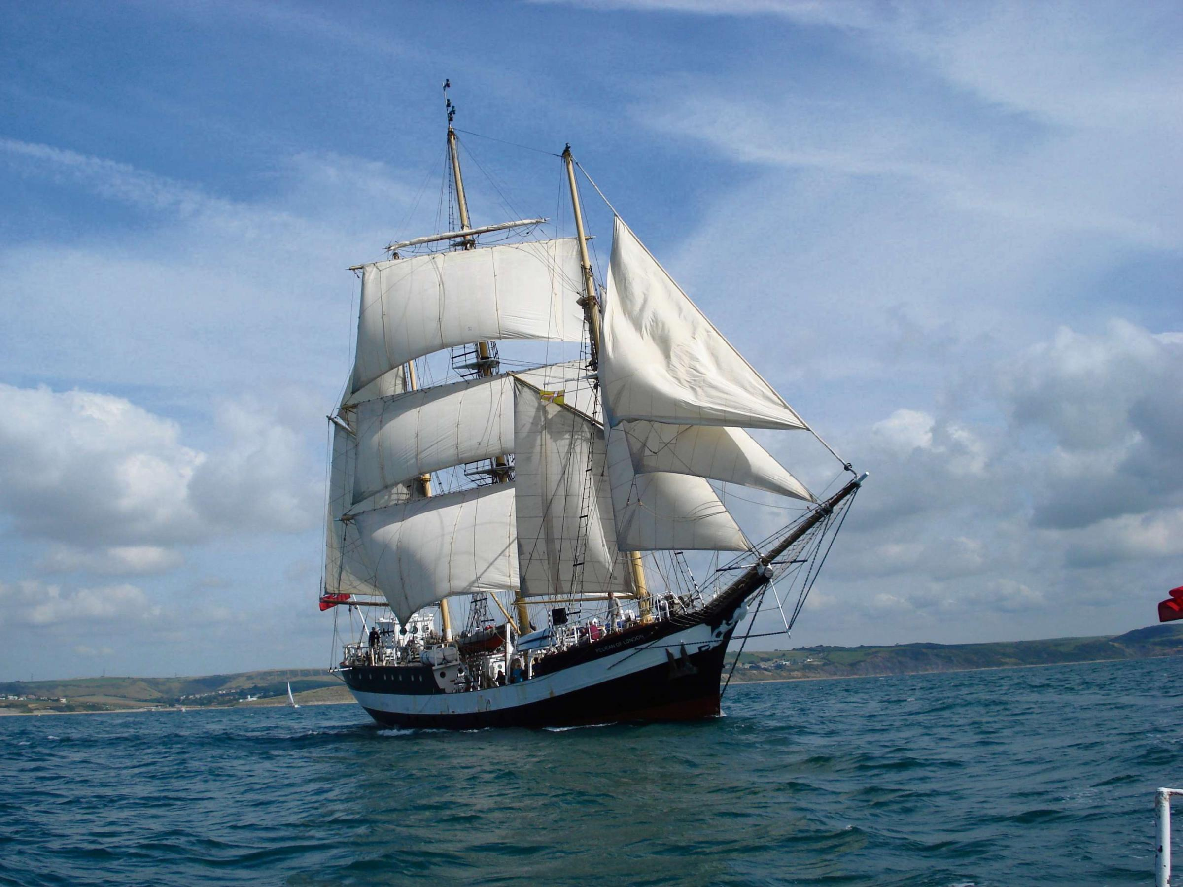 Tall ship to give bird's eye view of waterway