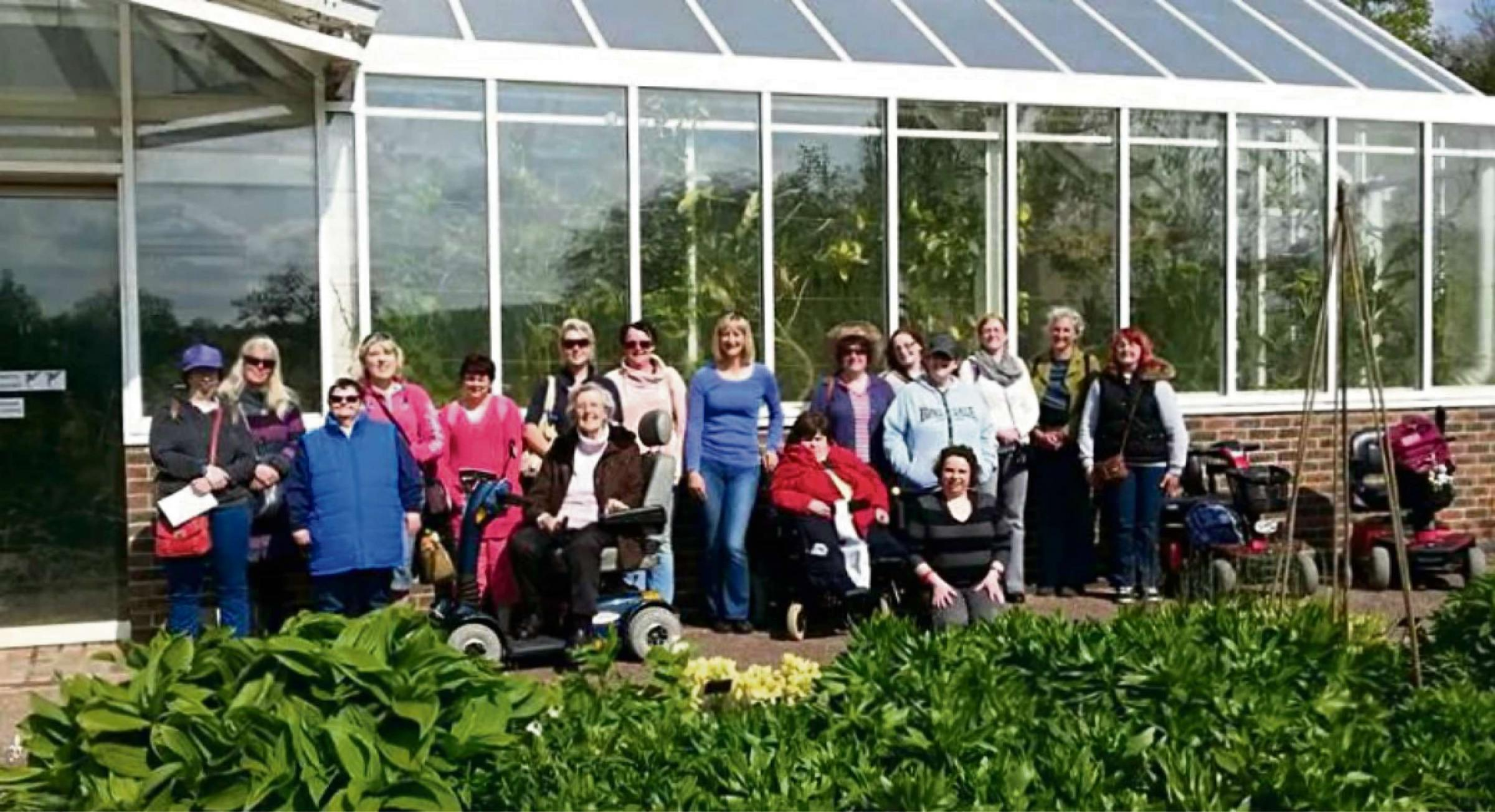 BIRTHDAY OUTING: The Sign and Share Club at the National Botanic Gardens of Wales. (6478273)
