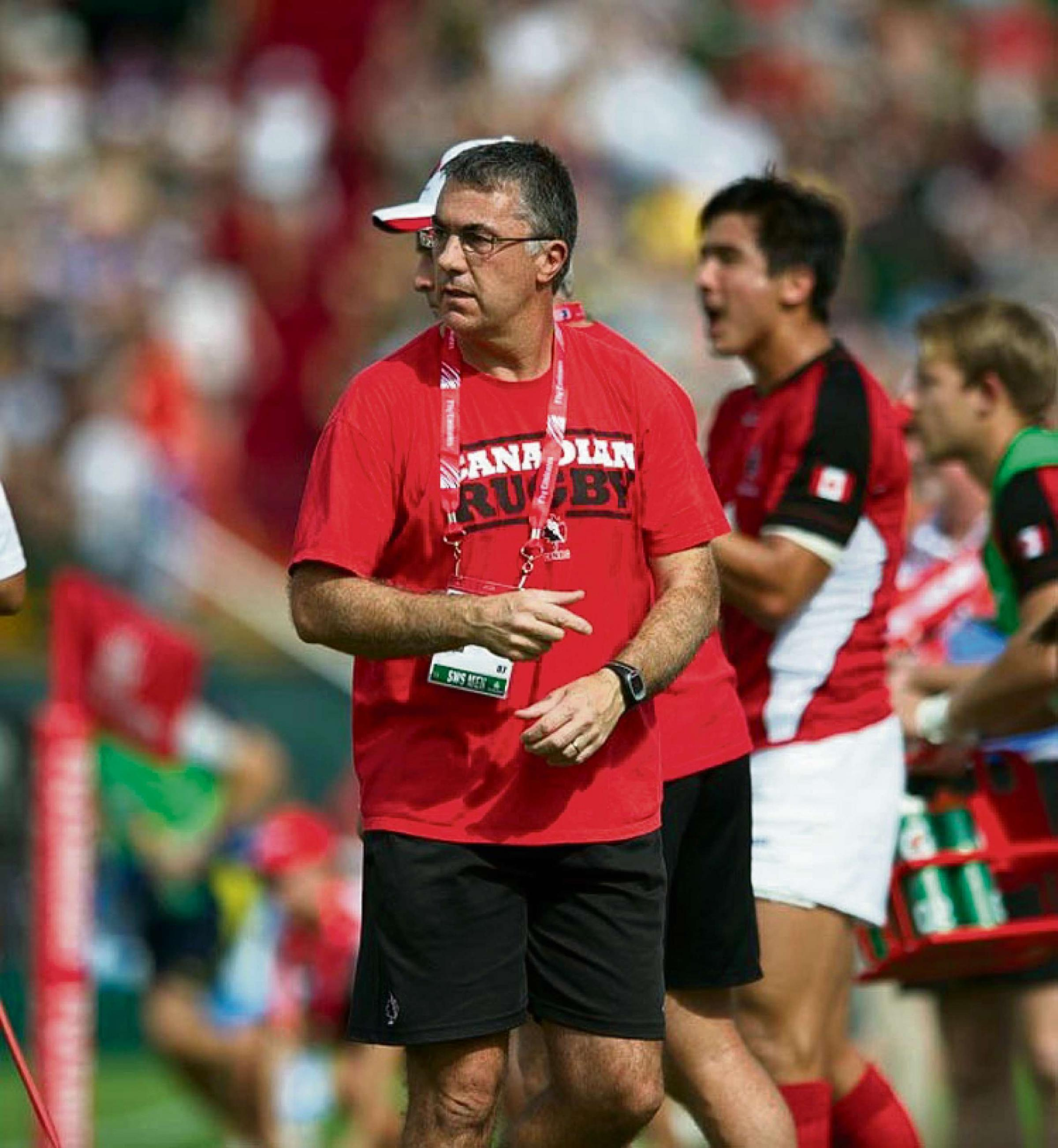 NEW JOB: Geraint John leaves Rugby Canada to join Australia as Sevens Head Coach.