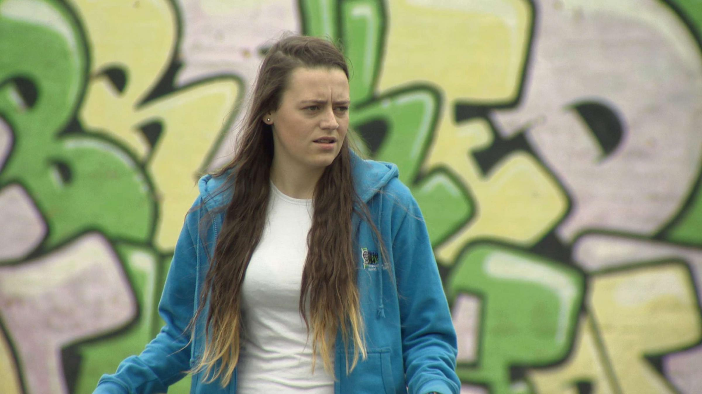 TACKLING BULLYING: Taylor Macleod's work on bullying will feature on ITV Wales news at 6pm today (Thursday, June 5). (6834229)