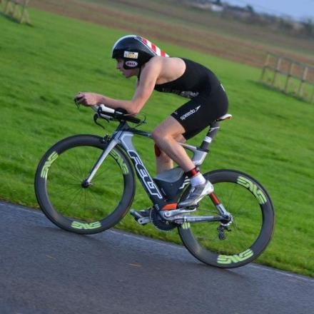 UPHILL TASK: Alex Matchett will participate in the triathlon mixed relay event at the Commonwealth Games.