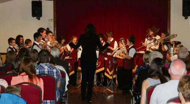 IN TUNE: Milford Haven Junior Band. PICTURE: Rick Holzmann. (8103117)
