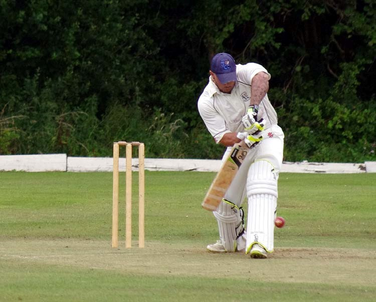 CENTURY MAKER: Johnston's Dan Sutton struck 101 for Johnston who lost at home against Haverfordwest 2nds. (8422783)