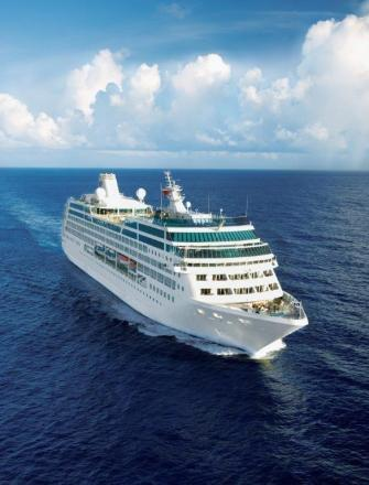 WAVE HELLO: Ocean Princess will be among the ships bringing hundreds of tourists to Pembrokeshire this autumn. (8672381)