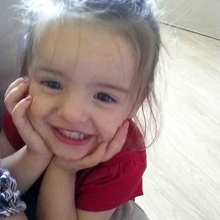 Trinity Liliana Coward died after a fire surround fell on her in her h