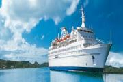 Visiting liner: Cruise vessel MS Delphin (9680234)