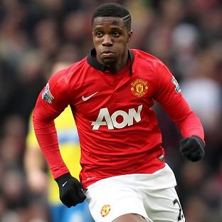 Wilfried Zaha struggled to make any impression for Manchester United