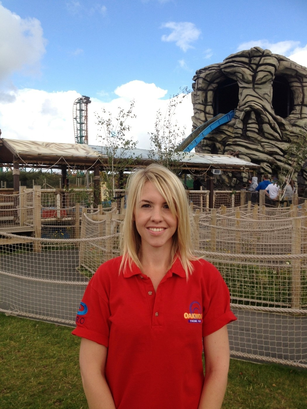 Exciting role: Clare Stansfield is the new boss at Oakwood. (9870299)