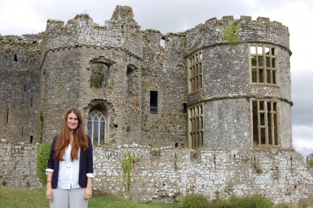 NEW VENTURE: Carew Castle's new manager, Daisy Hughes.  (9968810)