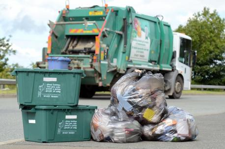 Fortnightly collections have led to recycling rate increase