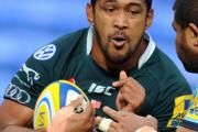 LONDON-BOUND: Tongan Number 8 Chris Hala'ufia joins London Welsh on a two-week loan.