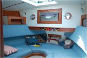 LOOKING GOOD: This interior shot shows the boat's high quality fittings and fixtures. (11530721)
