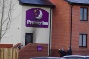 133 people were evacuated following a fire at Haverfordwest Premier Inn on Saturday