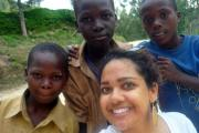 Izzy Emile's trip to Rwanda inspired her to take action to help. (16849998)