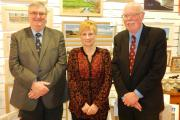 Pictured (left to right) are Cllr Chris Thomas, Cllr Sue Murray and Cllr Alan Buckfield, who are already making plans for Haverfordwest. PICTURE: Western Telegraph (22480397)