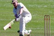 Tom Blaxland struck an incredible 127 not out for Hook.  PICTURE: Western Telegraph. (27045905)