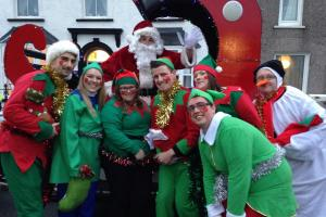 VIDEO: Merry Christmas from Milford Haven