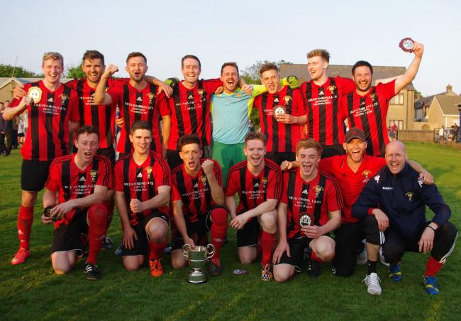 Goodwick after their Division 1 title win in 2016.