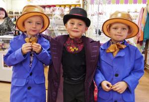 Milford Mercury: Milford Haven celebrated Roald Dahl Day with style. Click for more photos.