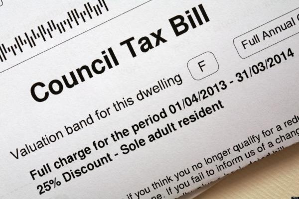 Council tax will increase by three per cent.
