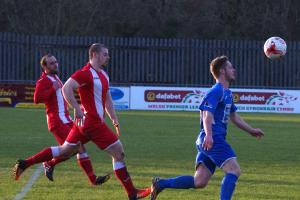 Steffan Williams came off the bench to score for the Bluebirds. PICTURE: Western Telegraph