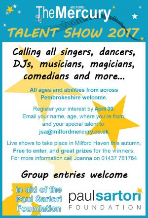 Milford Mercury: Do you have the talent to follow in Connie Fisher's footsteps? Take part in the Milford Mercury 2017 talent show. Click here for details.