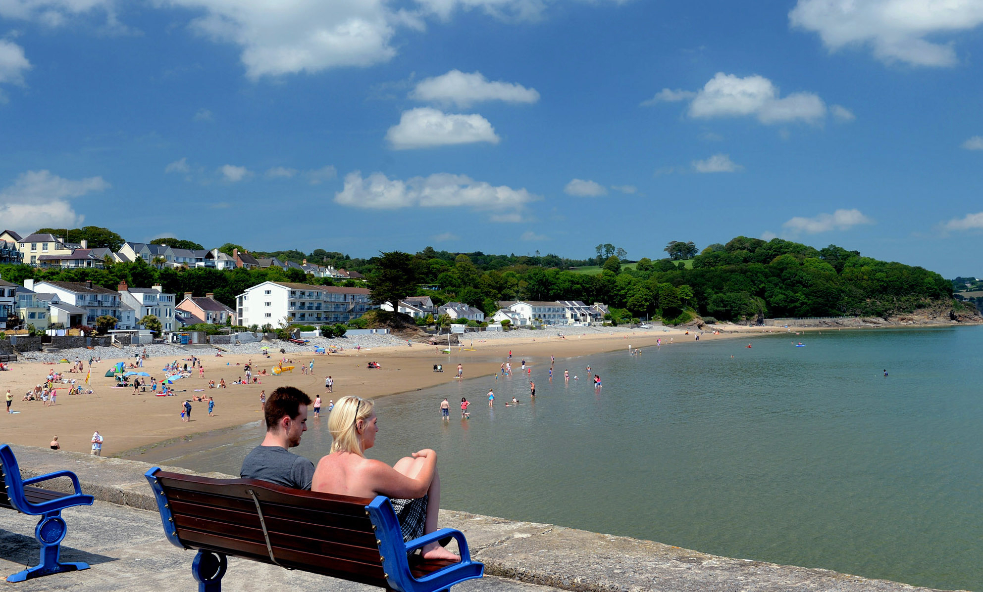 Saundersfoot is always a popular destination.  PICTURE: Gareth Davies Photography.