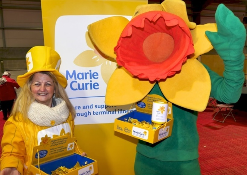 Could you help Marie Curie's 2018 Daffodil appeal in Milford Haven?