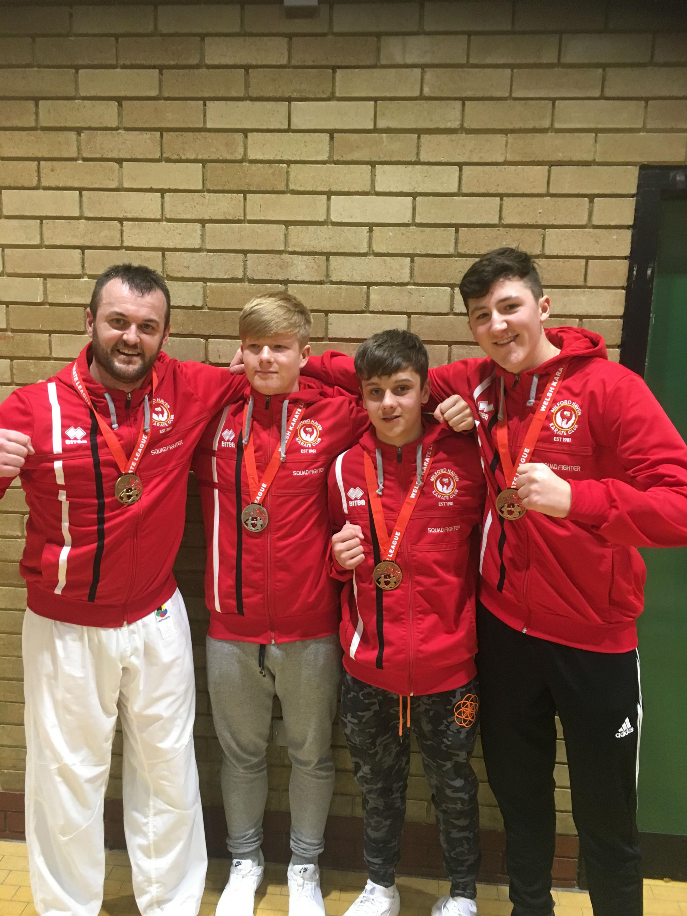 Milford Haven Karate club continues momentum in Cowbridge
