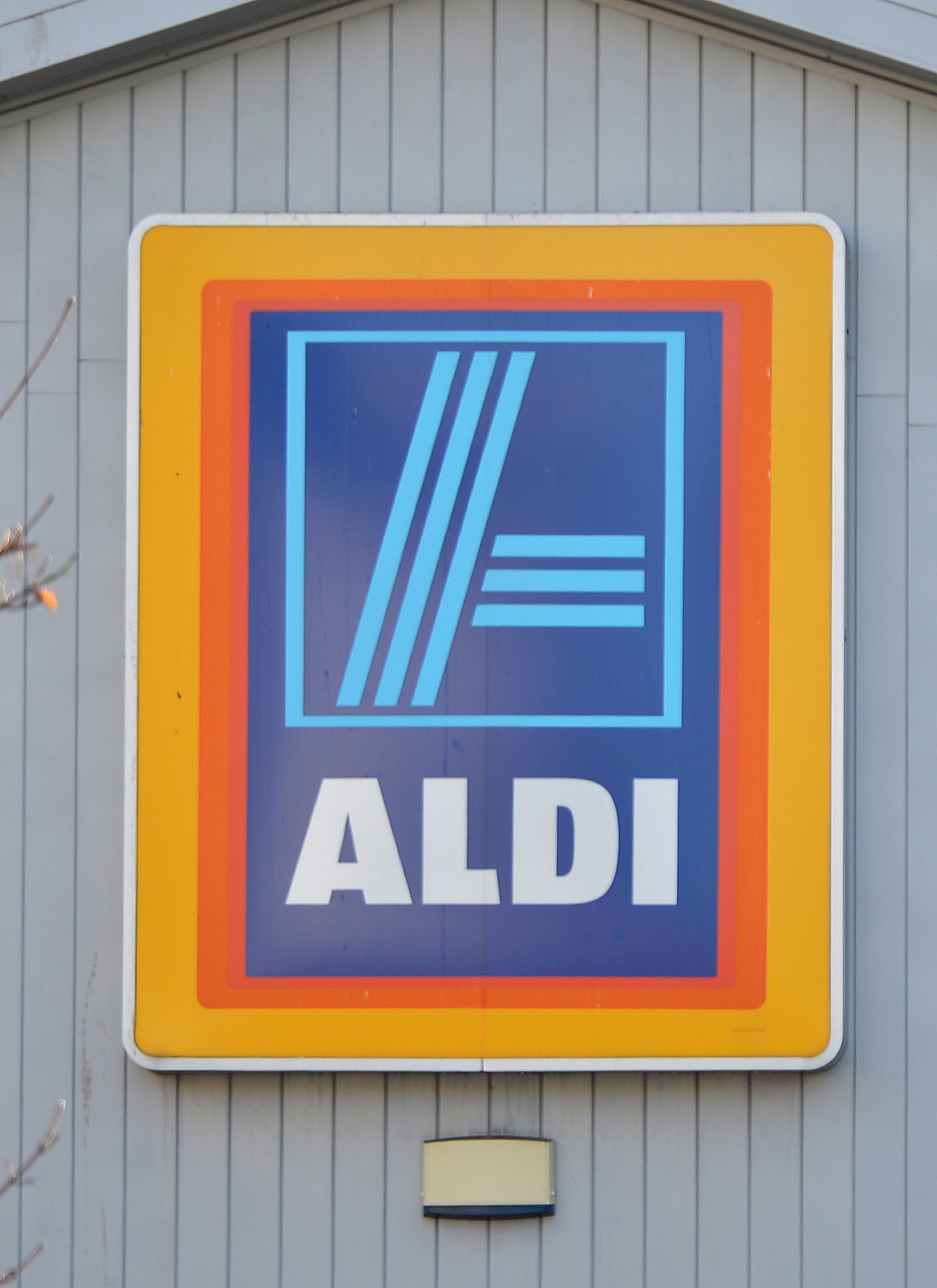 An Aldi store sign (Anthony Devlin/PA Wire)