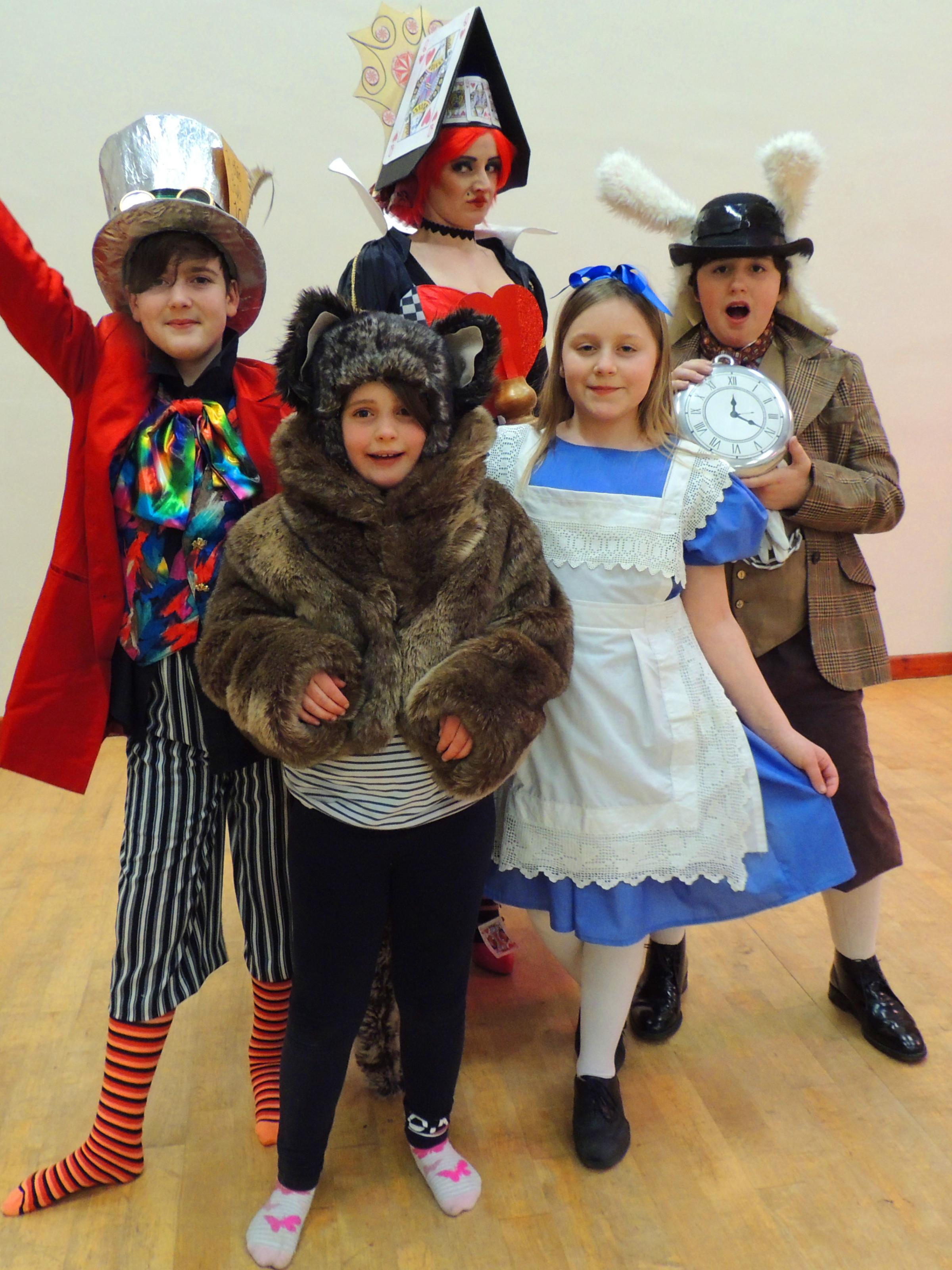 Cilgerran Players are staging a production of Alice in Wonderland