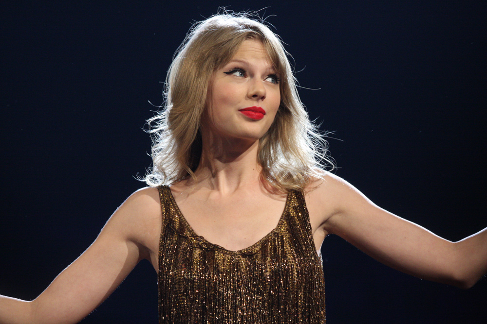 Taylor Swift has been selected to headline on the Sunday