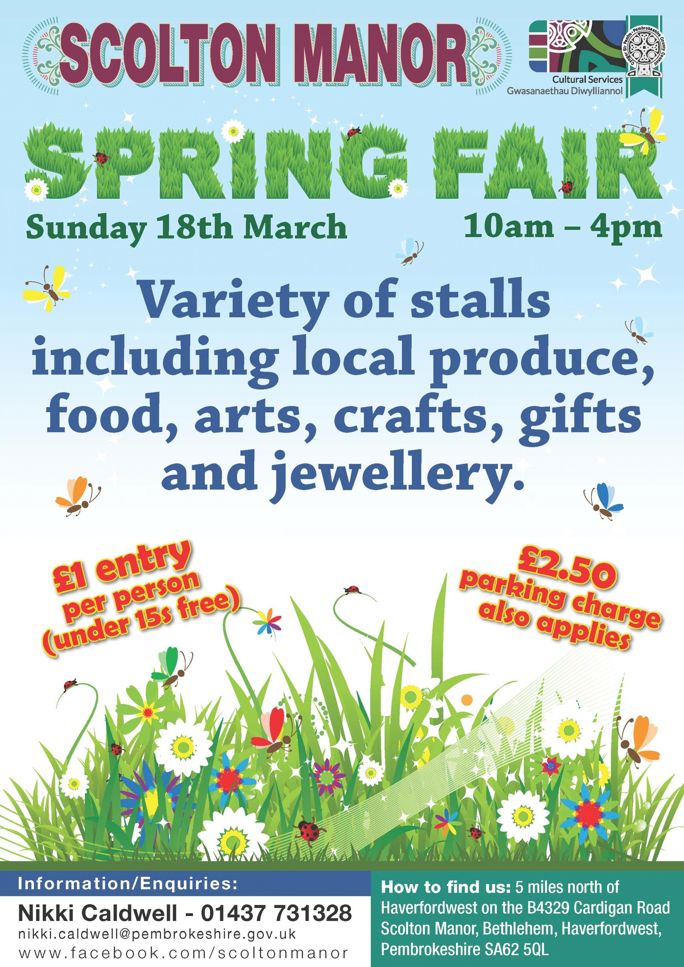 Scolton Manor Spring Fair