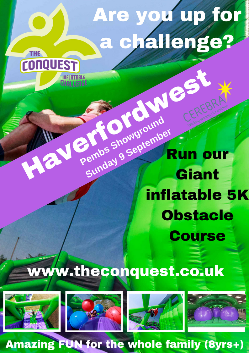 The Conquest 5K Inflatable Challenge