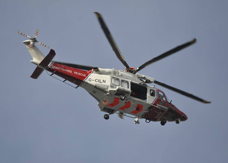 Rescue helicopter called as ferry passenger suffers 'medical emergency'. Stock photo