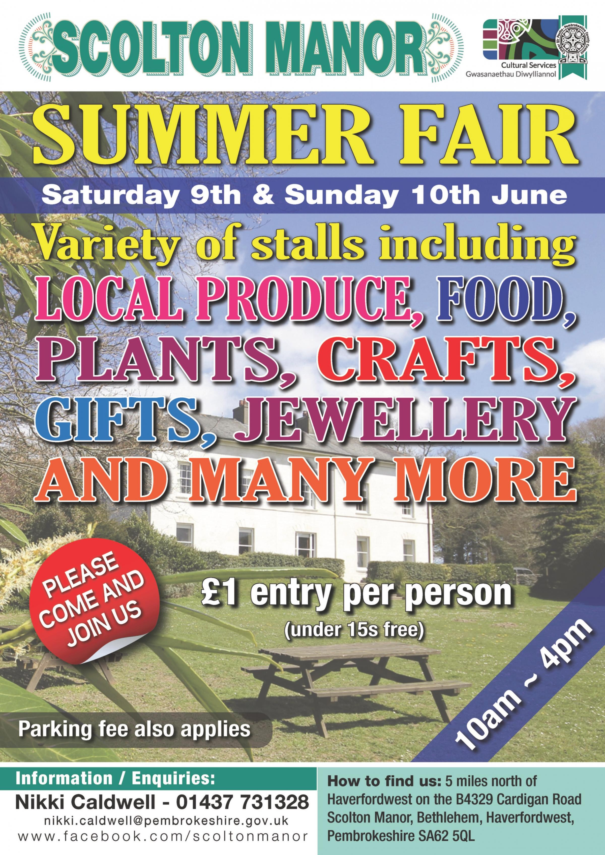 Scolton Manor Summer Fair