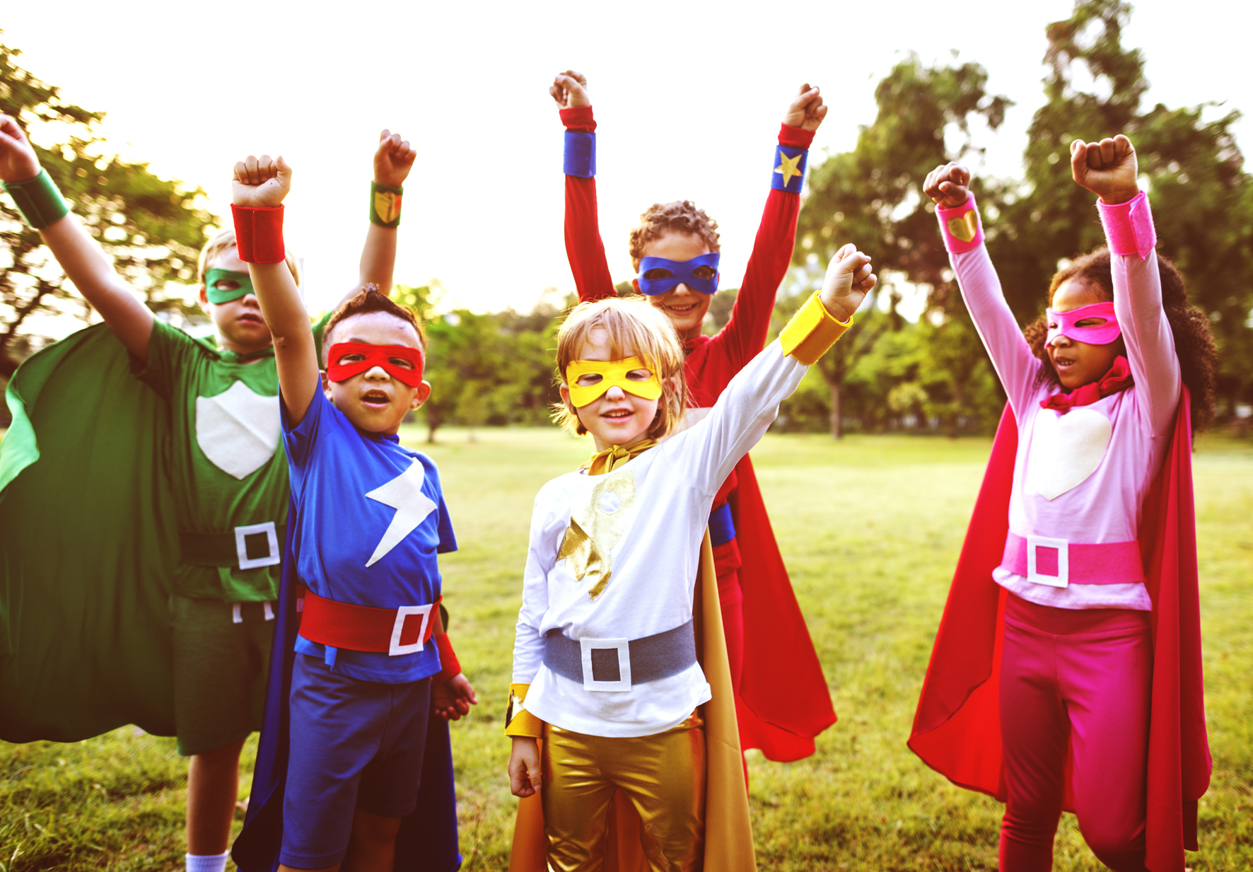 Superheroes of all sizes can enjoy a week of fun activities at Scolton Manor.