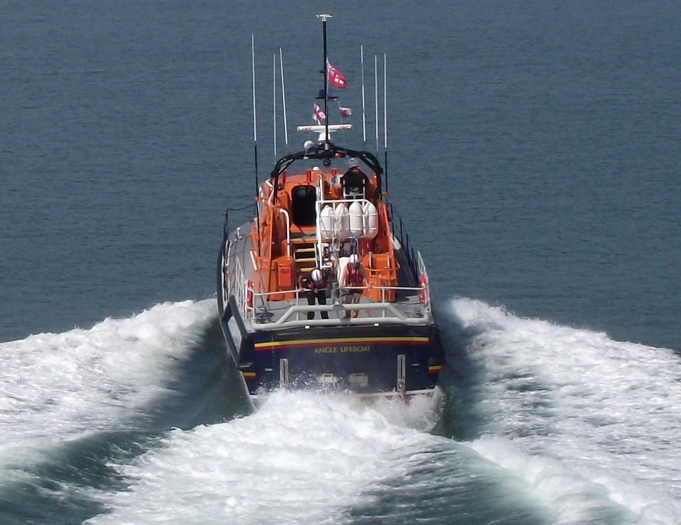 The RNLI Angle lifeboat PICTURE: Mark Mason