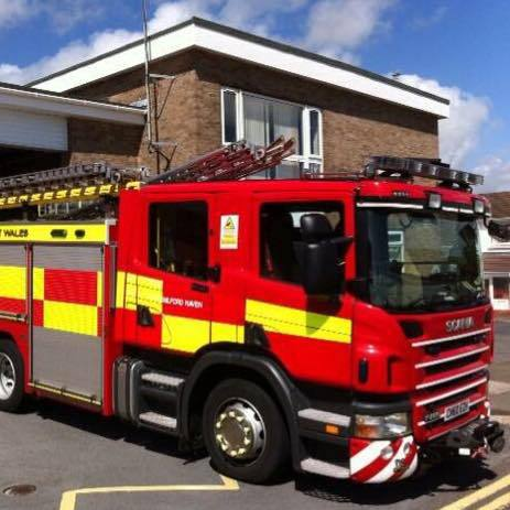 Milford Haven Fire Station is looking for firefighters.