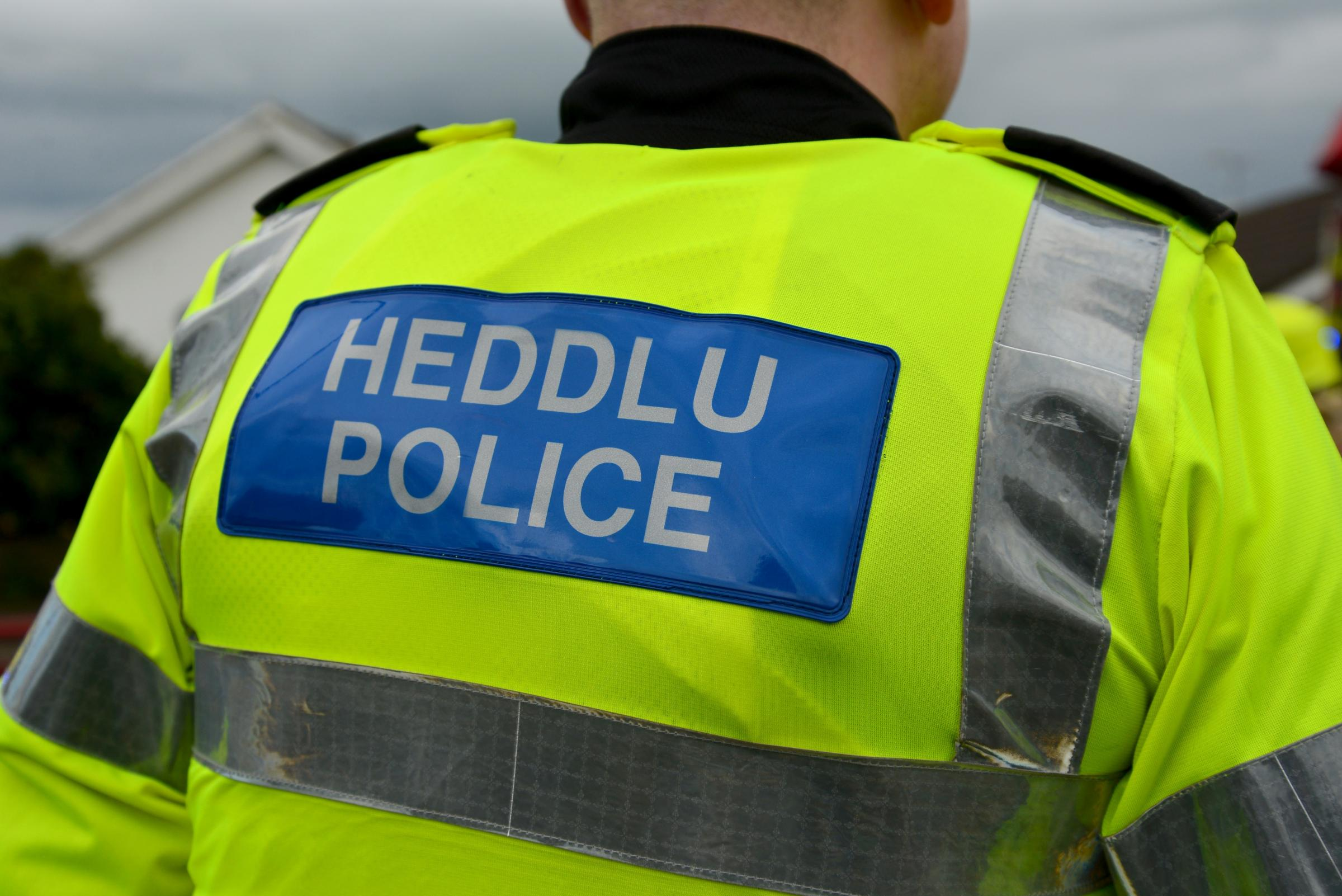 File pics of Dyfed-Powys police officer