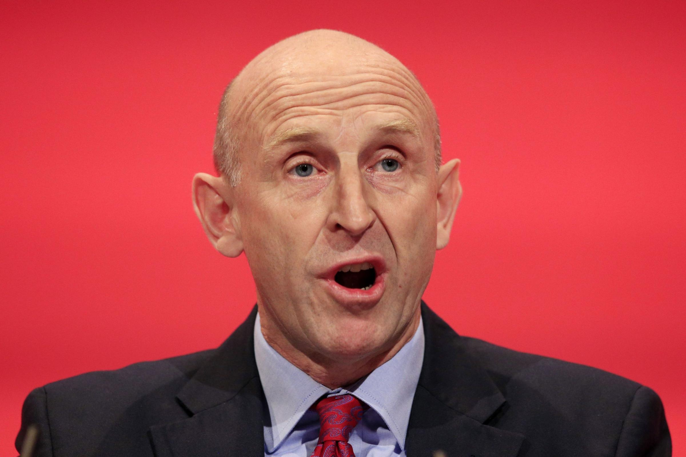 Shadow housing secretary John Healey (Jonathan Brady/PA)