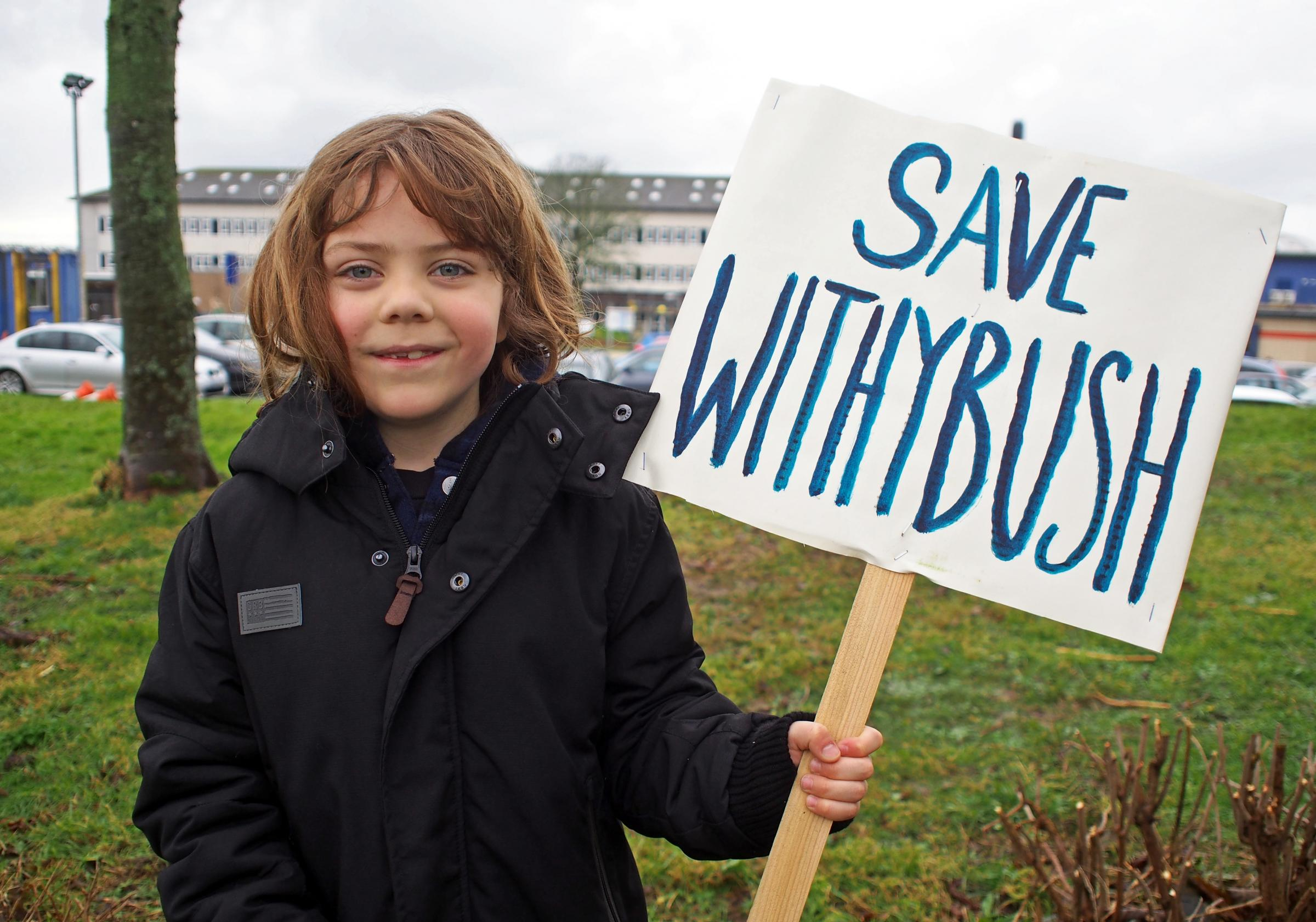 A call has gone out for every single person in Pembrokeshire to protest cuts to Withybush. PICTURE: Withybush Hospital