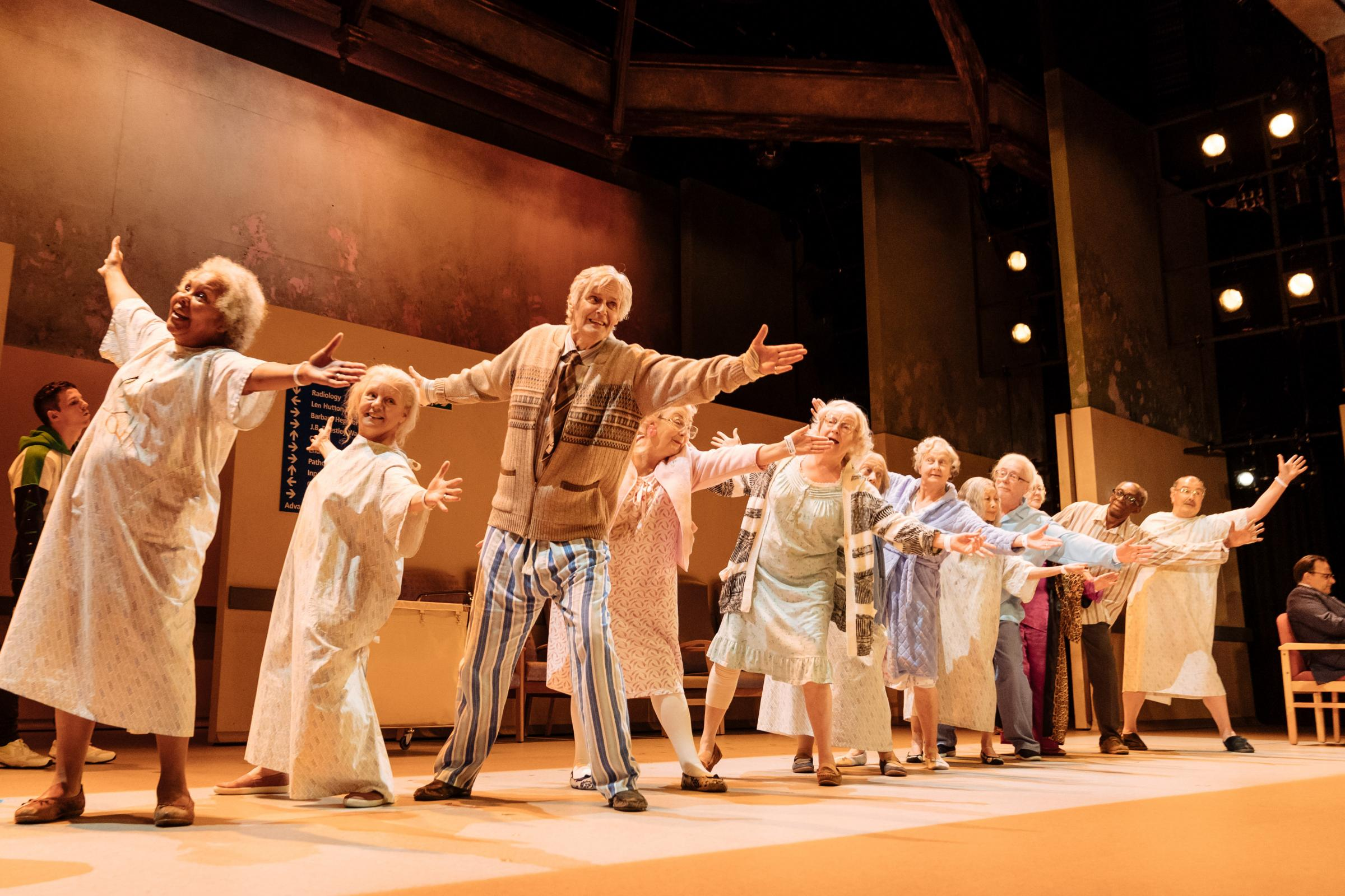 Alan Bennett's new play Allelujah! is to be screened at Cardigan's Theatr Mwldan