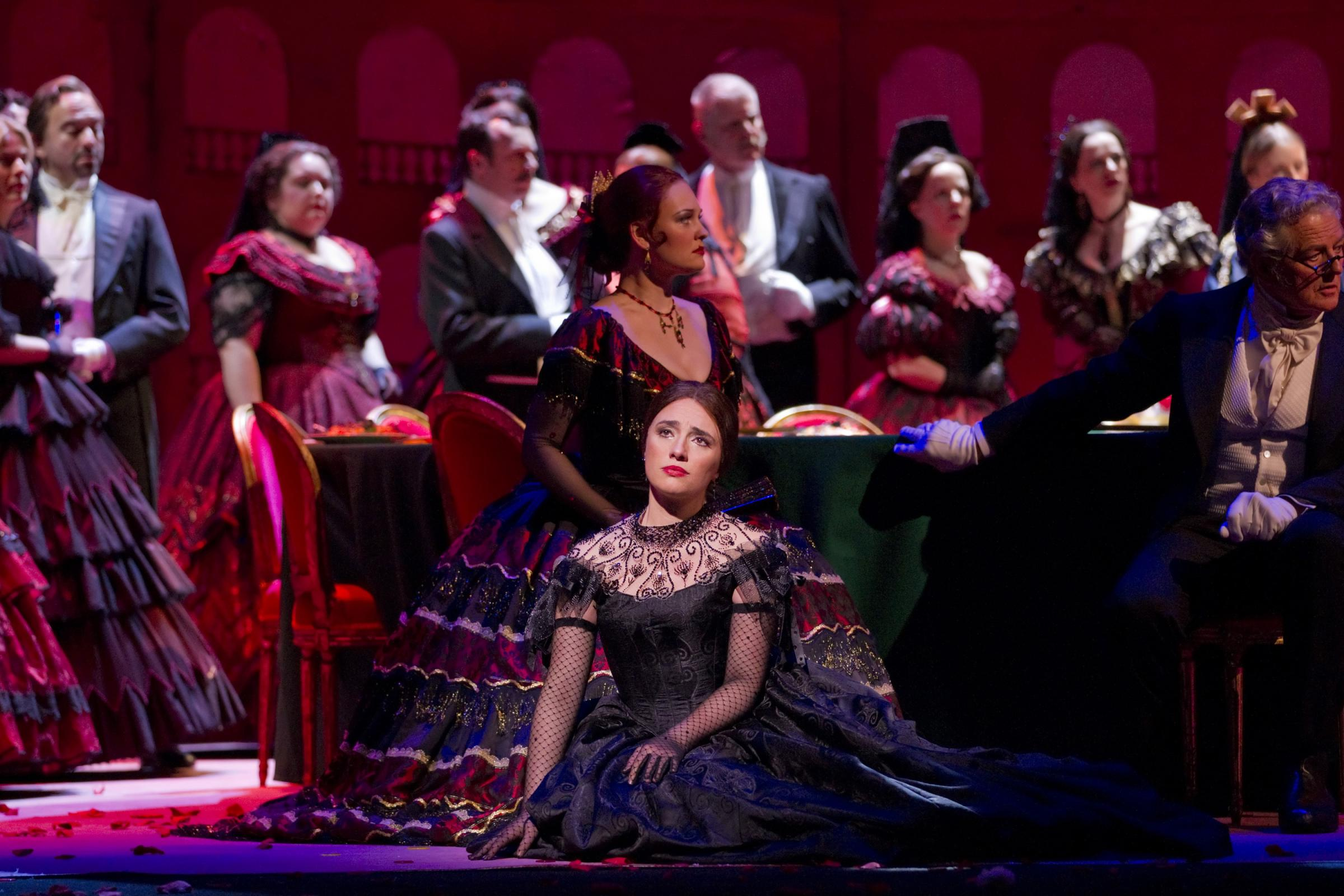 La Traviata is being broadcast live at Cardigan's Theatr Mwldan. PICTURE: Johan Persson