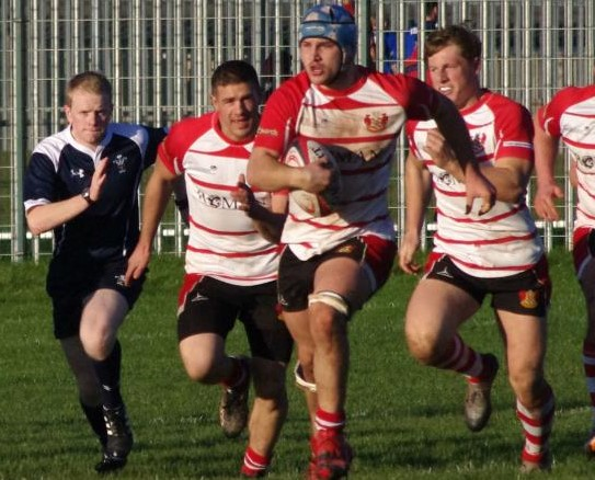 Number 12 for Milford as Dolling's try seals a windy win in Tregaron
