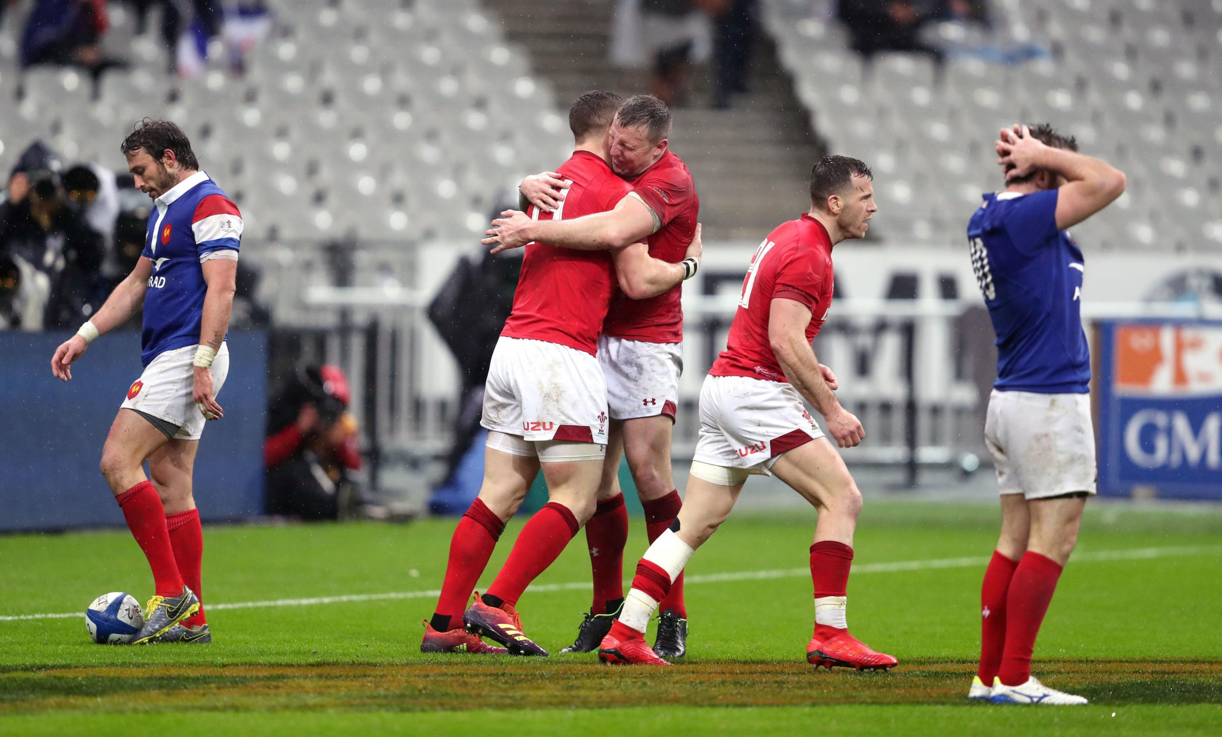France 19 Wales 24