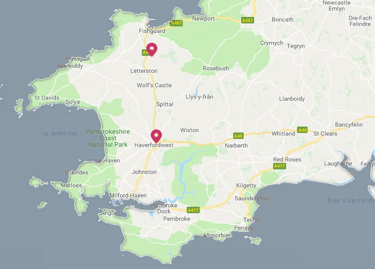 HAVERFORDWEST: 37 homes without power this afternoon